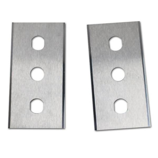 钨钢三孔刀片/合金三孔刀片/钨钢三孔分切刀片/合金三孔分切刀片